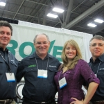 The Grover Team - Wally Mulhearn, Neil Grover, Joanna Huling and Rob Wheeler