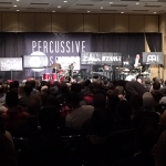 Peter Erskine & Bill Platt's clinic was packed!