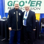 MSG Bill Elliot with Neil Grover