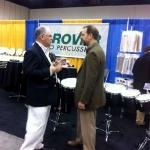 with John Beck Jr. (PAS President Elect)