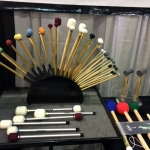 More Grover Pro Mallets on display