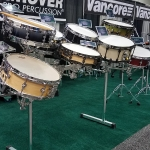 Grover Pro Snares Drums on display
