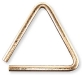 Grover Bronze Pro Hammered Triangle