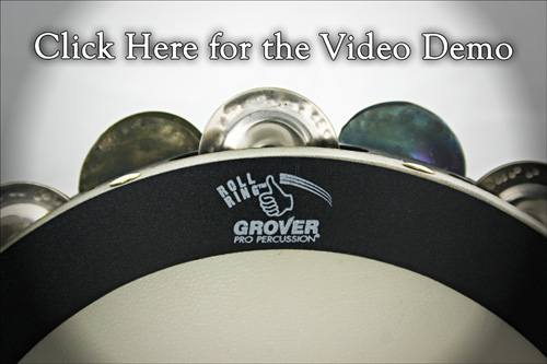 The Grover Pro Percussion Roll Ring™