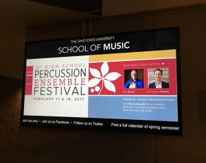 13th Ohio State Percussion Ensemble Festival