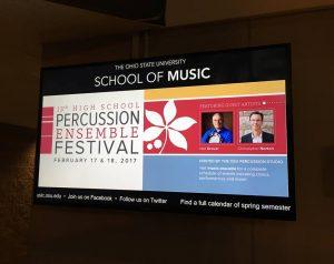 13th Ohio State Percussion Ensemble Festival