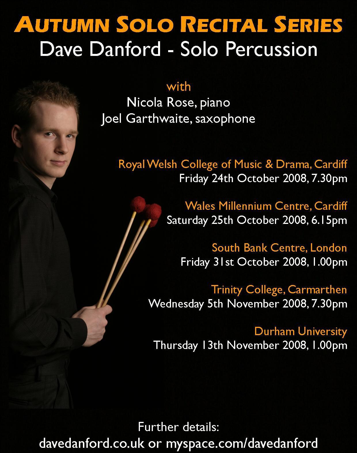 Dave Danford Launches Solo Tour