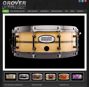 GROVER CUSTOM SITE LAUNCHED!