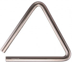 "NEW 5″ ""SUPER-OVERTONE"" TRIANGLE"