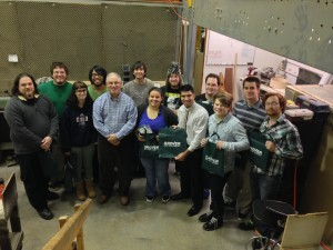 FACTORY VISIT BY URI PERCUSSION