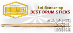 SilverFox Bop Master: 2013 DRUMMIES 3rd Runner-up!