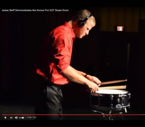 Jesse Sieff Dynamic Demo of G3T Snare Drum!